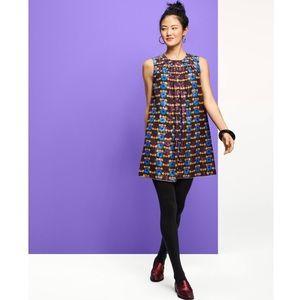 Anna Sui for Target Metallic Circles Shift Dress
